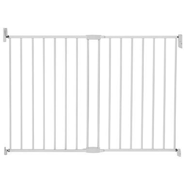 Munchkin Extending Metal Gate Extra Tall & Wide White