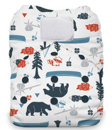 Thirsties Natural One Size All in One Hook & Loop Diaper Adventure Trail