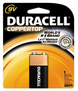 Duracell Coppertop 9 Volt Battery