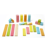 Tegu Magnetic Wooden Block Set - Tints