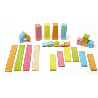 Tegu Magnetic Wooden Block Set - Tints