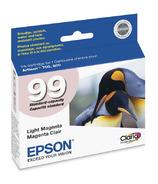 Epson T099620 Claria Light Magenta Ink Cartridge