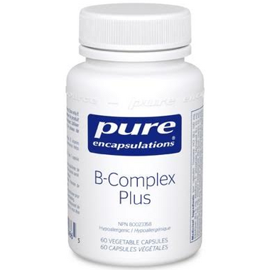 Pure Encapsulations Vitamin B Complex Plus