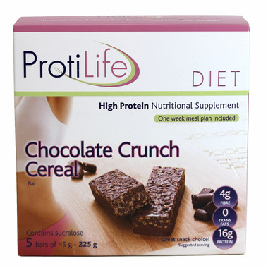 ProtiLife Chocolate Crunch Cereal Bars