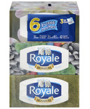 Royale Signature 3-Ply Facial Tissues Hypoallergenic