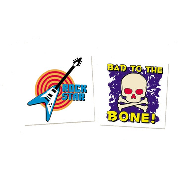 Buy bad to the bone temporary tattoos at free for Vulgar temporary tattoos