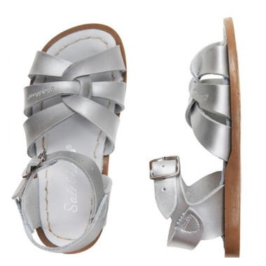 Salt Water Sandals The Original Children\'s Sandal Silver