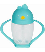 Lollacup Straw Sippy Cup Cool Turquoise