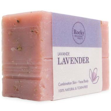 Rocky Mountain Soap Co. Lavender Bar Soap