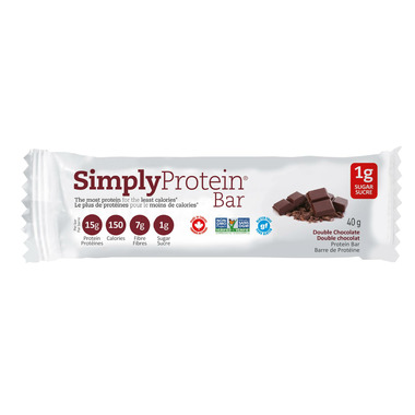 Simply Protein Double Chocolate Protein Bar Case