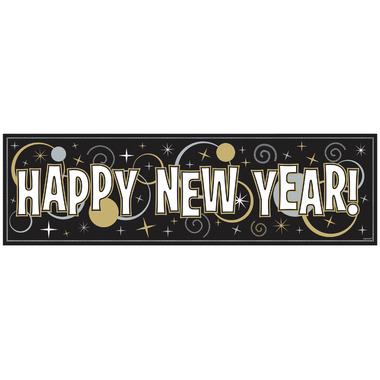 New Year\'s Giant Sign