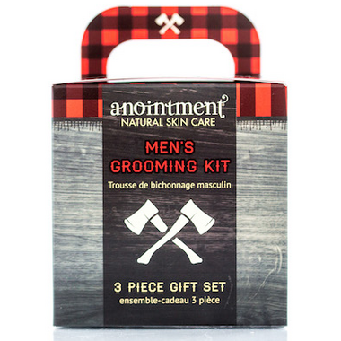 Anointment Natural Skin Care Men\'s Grooming Kit