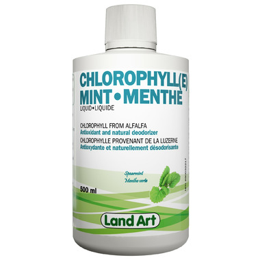 Land Art Chlorophyll Mint Liquid