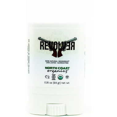 North Coast Organics Revolver Organic Deodorant Travel Size