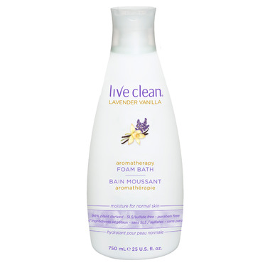 Live Clean Aromatherapy Foam Bath
