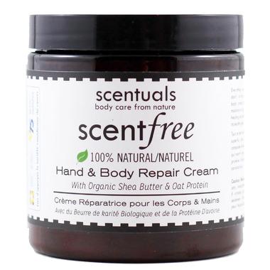 Scentuals Scentfree 100% Natural Hand & Body Repair Cream