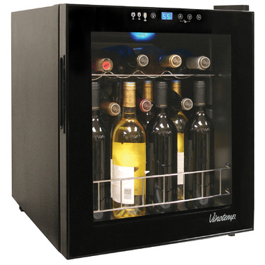 Vinotemp 15 Bottle Touchscreen Wine Cooler