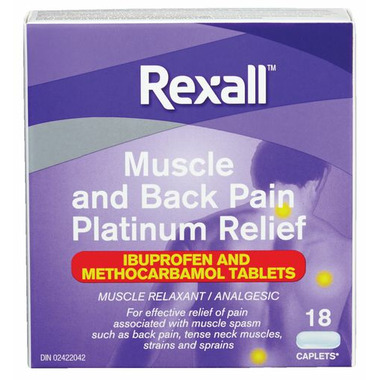 Rexall Muscle and Back Pain Platinum Relief