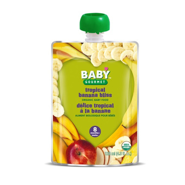 Baby Gourmet Tropical Banana Bliss Baby Food