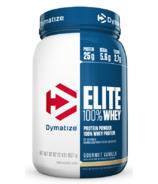 Dymatize Nutrition Elite Whey Protein