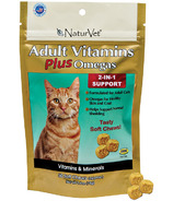 Naturvet Adult Vitamins Plus Omegas Cat Soft Chews