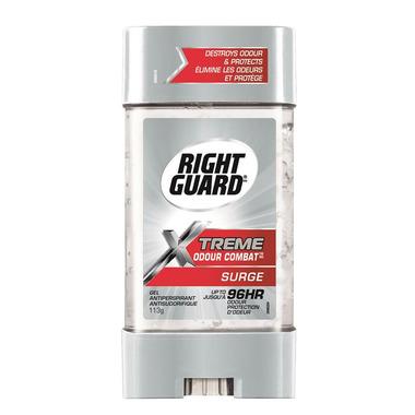 Right Guard Xtreme Odour Combat Antiperspirant Gel Surge