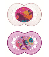 Mam Silicone Crystal Pacifier Pink