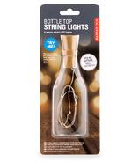 Kikkerland Bottle Top String Lights