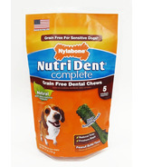 Nutri Dent Complete Dental Chews Grain Free Medium Size 5 Pack