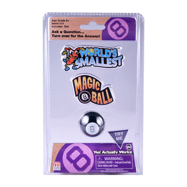 World\'s Smallest Magic 8 Ball