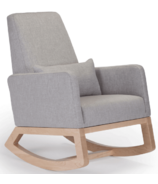 Monte Design Joya Rocker Microfiber & Maple Base