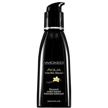 Wicked Sensual Care Aqua Vanilla Bean Flavored Lube