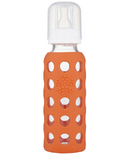 Lifefactory Glass Baby Bottle with Silicone Sleeve