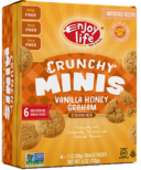 Enjoy Life Mini Crunchy Cookies Vanilla Honey Graham