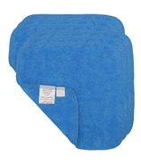 Motherease Cotton Baby Wipes Blue