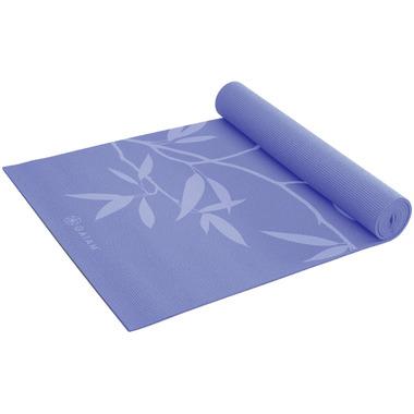 Gaiam Ash Leaves Yoga Mat Lilac