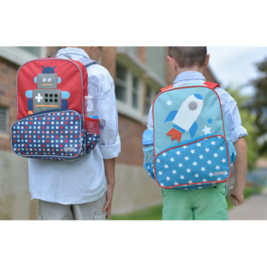 JJ Cole Toddler Backpack Robot