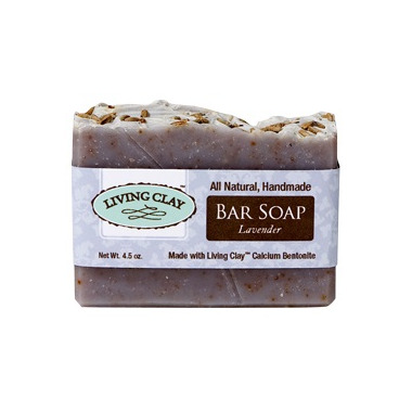 Living Clay Co. Lavender Bar Soap