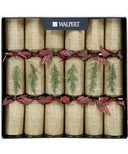 Walpert Festive Crackers in Burlap