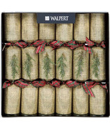 Walpert Festive Crackers in Burlap