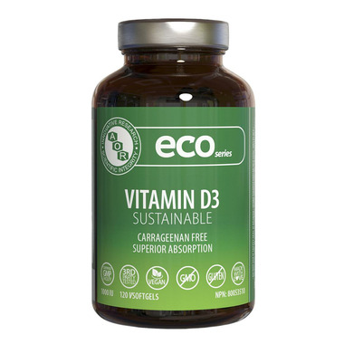 AOR Eco Series Sustainable Vitamin D3