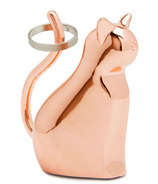 Umbra Anigram Cat Ring Holder Copper