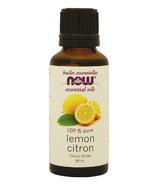 NOW Essential Oils Lemon Oil