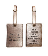MYTAGALONGS Definitions Set Of 2 Luggage Tags