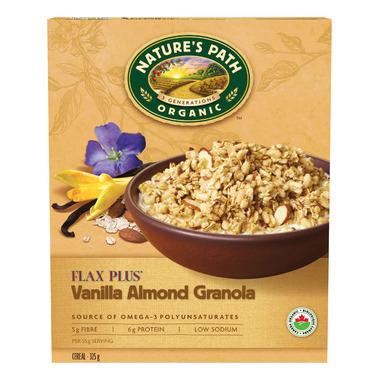 Nature\'s Path Organic FlaxPlus Vanilla Almond Crunch Granola
