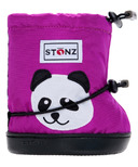 Stonz Purple Panda Toddler Booties