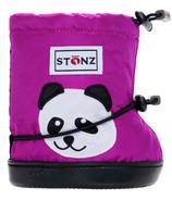 Stonz Purple Panda Toddler Booties