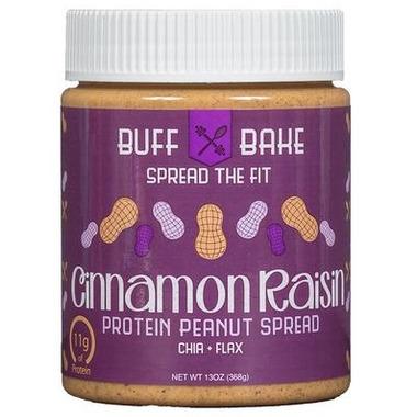 Buff Bake Cinnamon Raisin Protein Peanut Spread