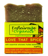 Enfleurage Organics Bar Soap Love That Spice
