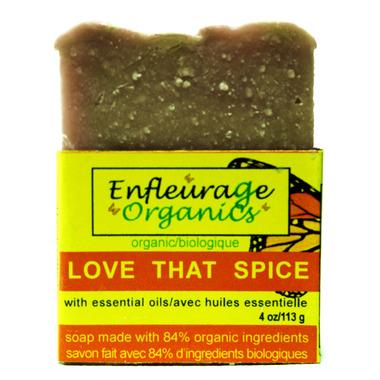 Enfleurage Organics Bar Soap Love That Spice